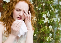 Girl with Hayfever