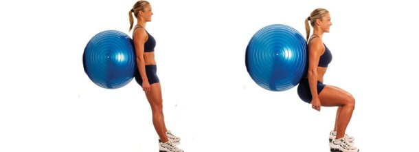 Fitball-Squat-a-muro