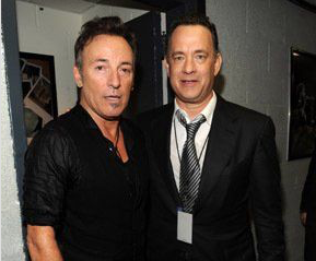 Bruce e Tom Hanks