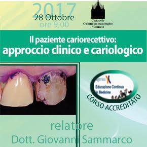28 ottobre – Il pazientecariorecettivo